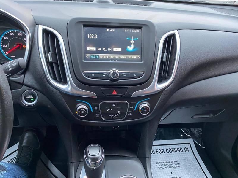 Chevrolet Equinox 2018 price $13,995