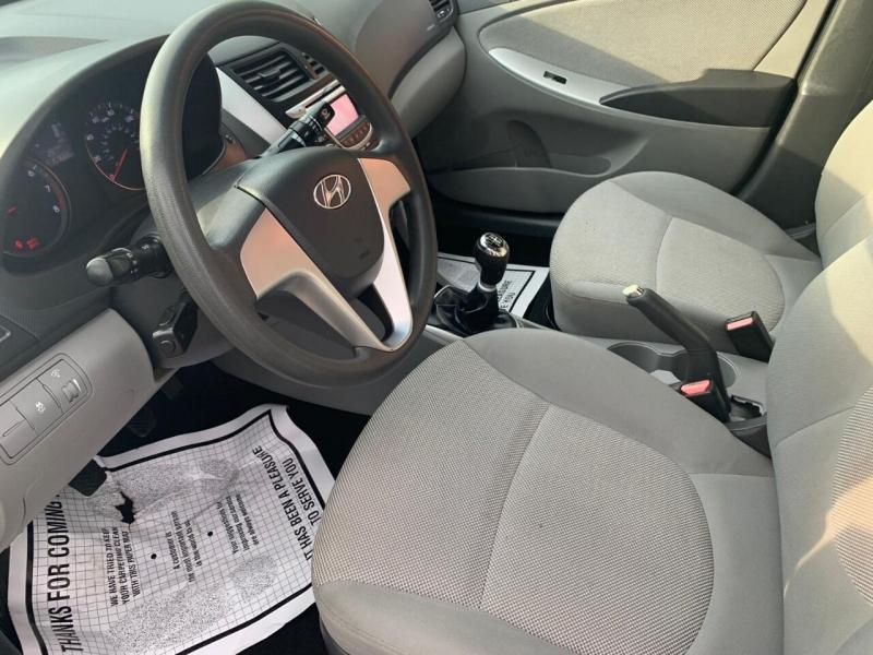 Hyundai Accent 2012 price $3,995