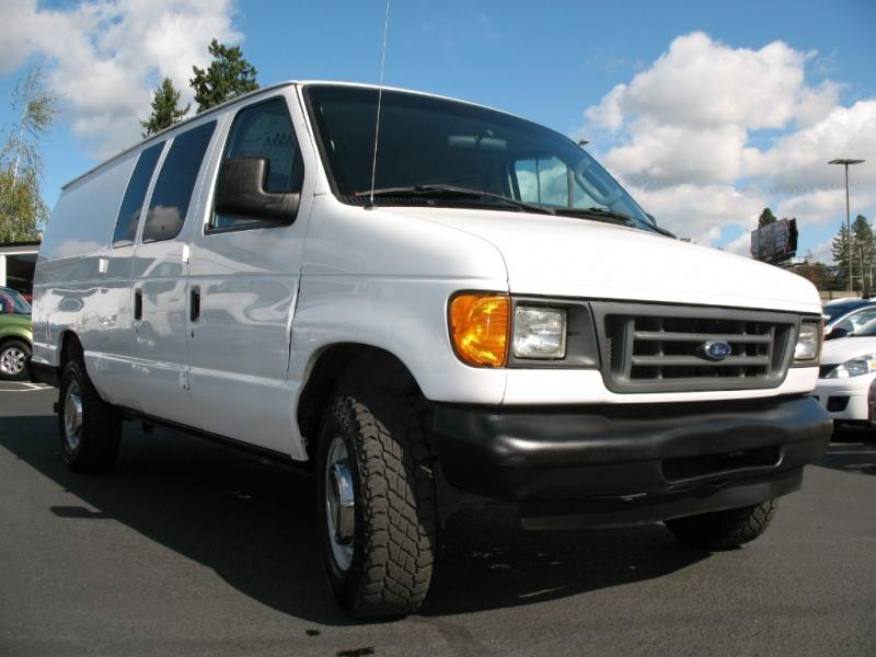 Cargo Van For Sale By Owner >> 2003 Ford Econoline Cargo Van E 350 Super