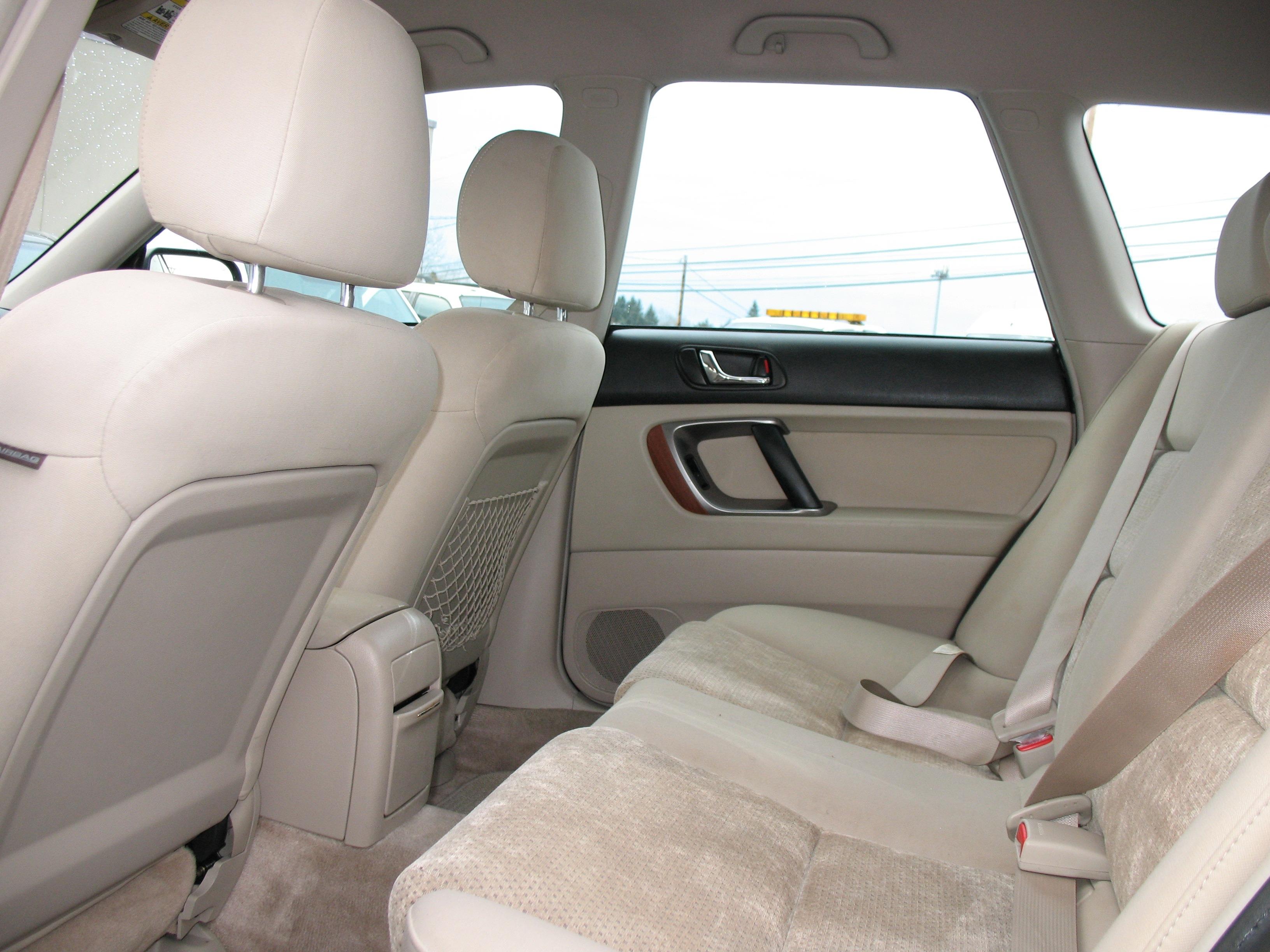 2005 Subaru Outback Seat Wiring