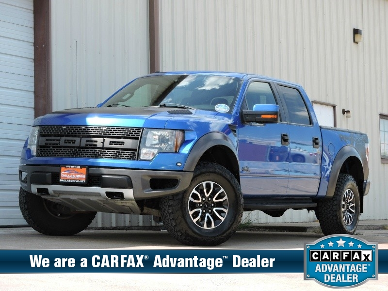 2012 Ford F-150 4WD SuperCrew 145\