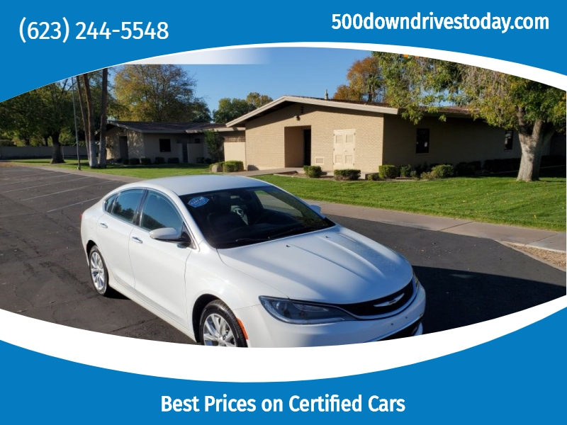 Chrysler 200 2015 price $11,195