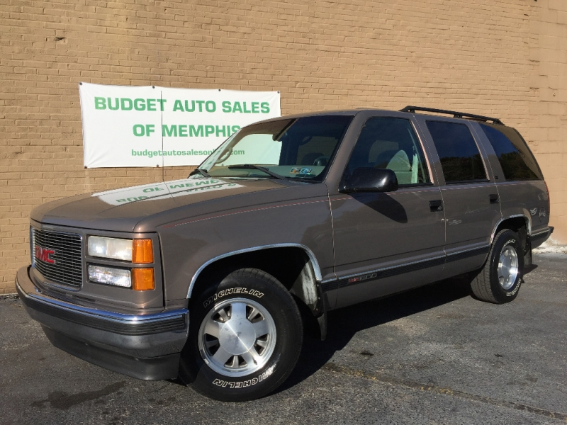 GMC Yukon 1998 price $7,495