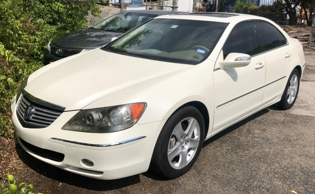 2007 acura rl 4dr sdn at tech pkg natl inventory auto