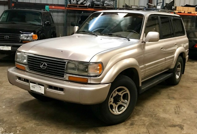 1997 Lexus LX 450 Triple Locked