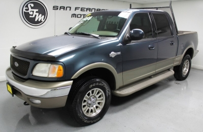 "2002 Ford F-150 SuperCrew 139"" XLT 4WD"