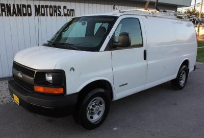 """2005 Chevrolet Express Cargo Van 2500 135"""" WB RWD Y3H Paratransit"""