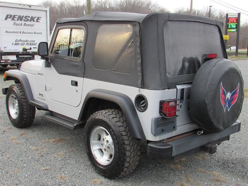 JEEP WRANGLER 2003 price $9,994