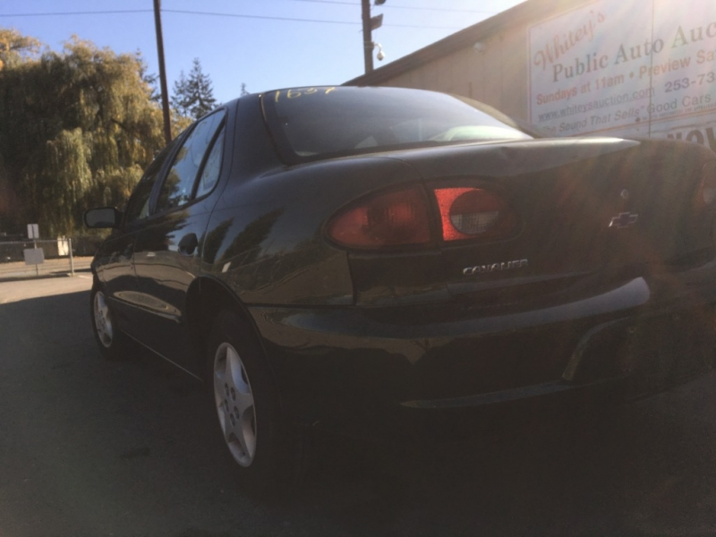 Chevrolet Cavalier 2000 price Sunday Auction November 3rd@11