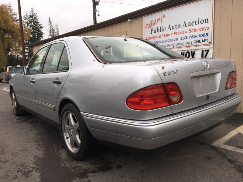 Mercedes-Benz E Class 1999 price Sunday Auction JAN 12th @11am