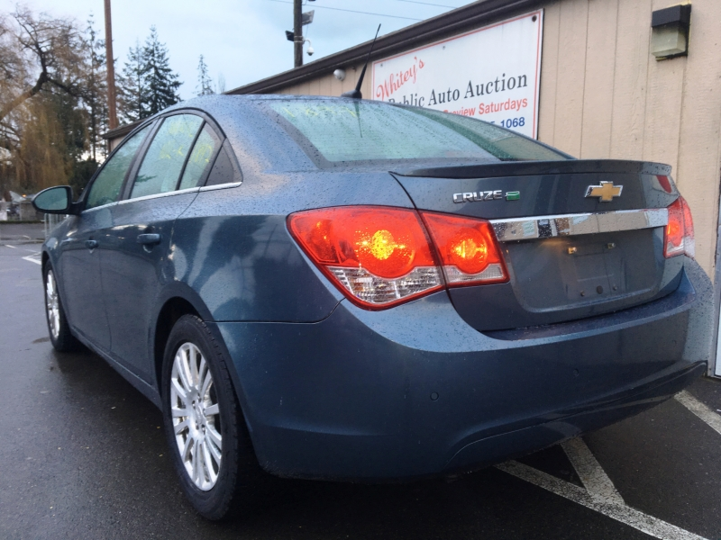 Chevrolet Cruze 2012 price Sunday Auction JAN 12th @11am