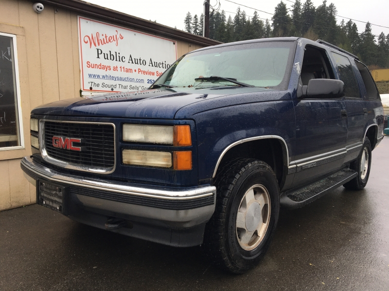 GMC Yukon 1999 price $350