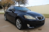 Lexus IS 350 Navigation Bk Up Camera 2007