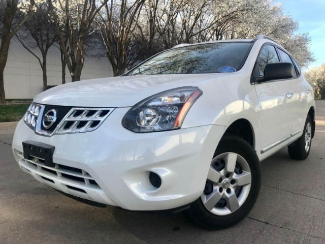 2014 Nissan Rogue AWD Bk Up Cam One Owner