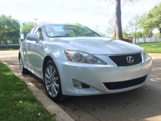 2007 Lexus IS250 Nav Back Up Cam Heated/Cooled Leather Seats