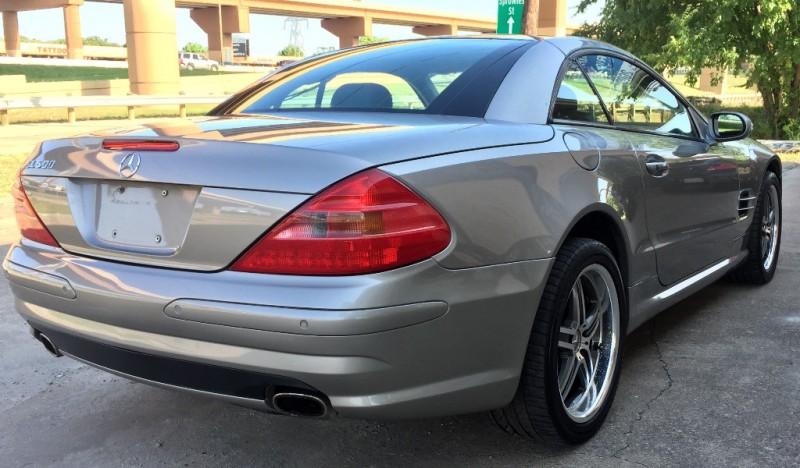 Mercedes-Benz SL500 Roadster, NAVI 2003 price $9,490