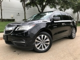 Acura MDX Tech Pkg Nav. Bk up Camera Lane Assist 2014