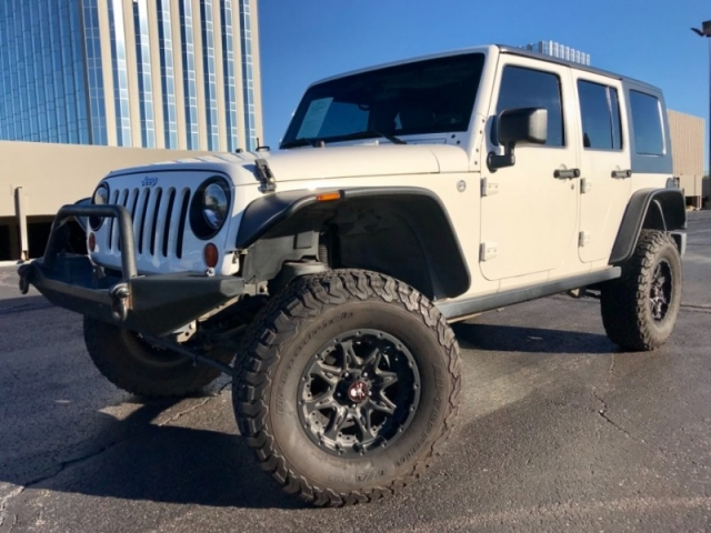 2009 Jeep Wrangler Unlimited 4X4