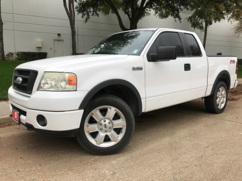 Ford F-150 FX4 4x4 SuperCab 2008 price $7,390