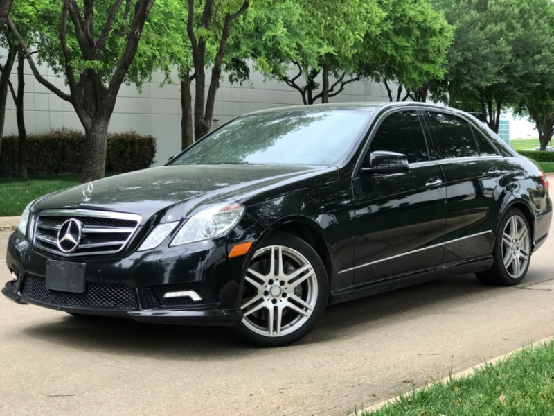 Mercedes-Benz E 550 Pkg 2 AMG Pkg Nav./Bk Up Dynamic Seat 2010 price $10,990