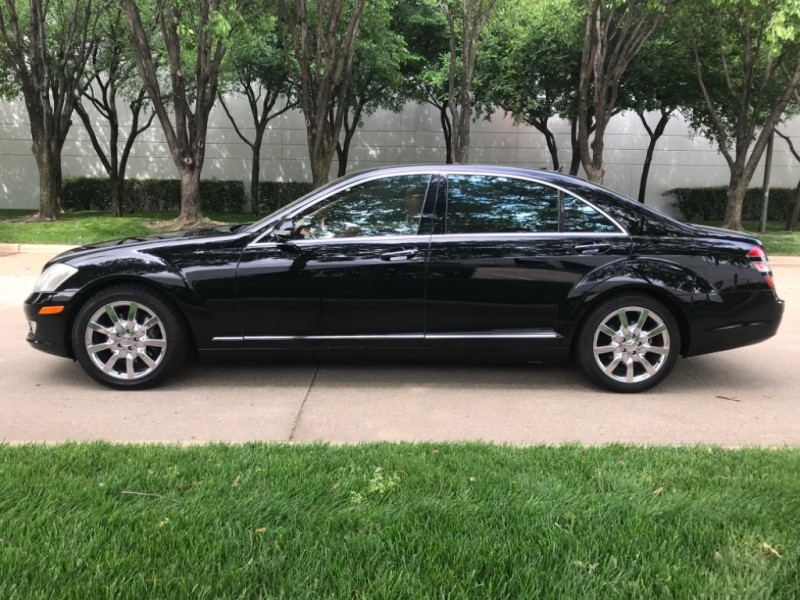 Mercedes-Benz S 550 Premium Pkg 2 chrome wheels 2007 price $11,490
