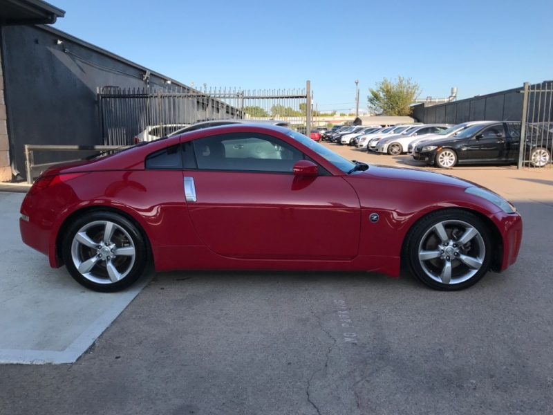 Nissan 350Z Touring 2 Tone Red Leather 2006 price $9,990