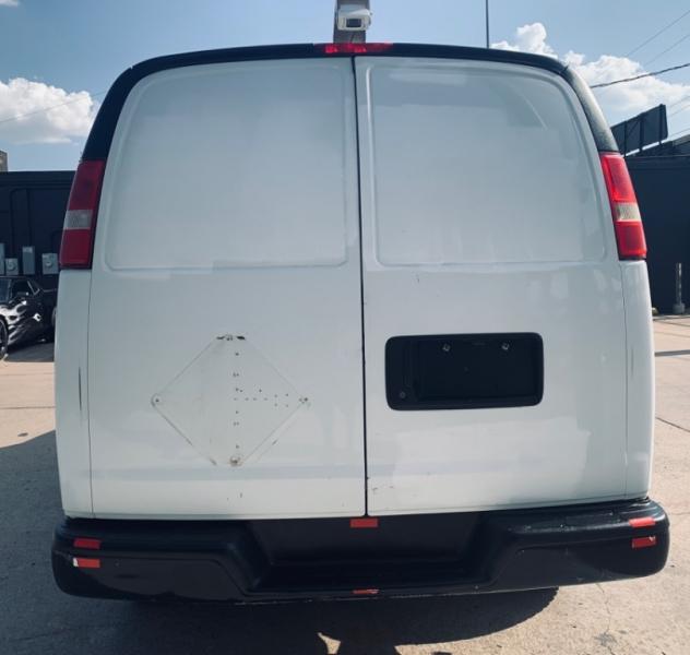 GMC Savana Cargo Van 2500 one owner BK Camara 2012 price $6,990