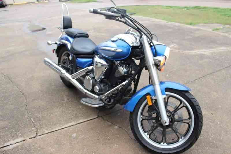 Yamaha XVS950 Midnight Star low miles 2009 price $4,990