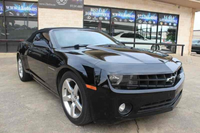 2011 Chevrolet Camaro LT Convertible One Owner