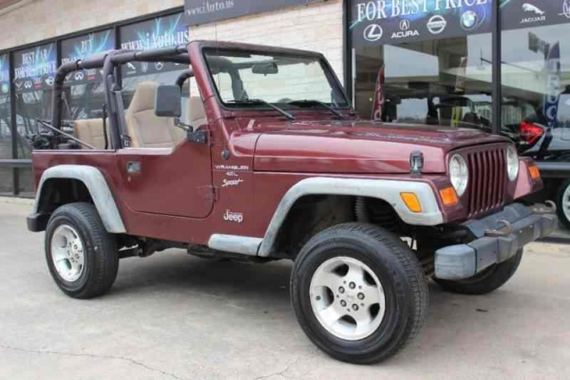 2001 Jeep Wrangler Sport 4X4 One Owner