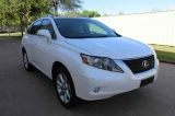 Lexus RX350 Bk Up Cam Low Miles One Owner 2011