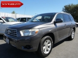 Toyota Highlander 24/24 WARRANTY 2008