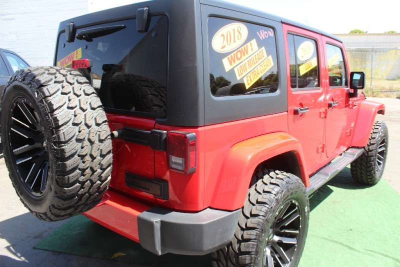 Jeep Wrangler JK Unlimited 2018 price $0