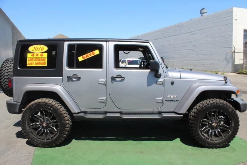 Jeep Wrangler Unlimited 2016 price $0