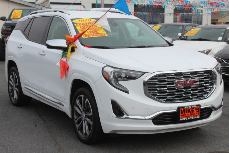 GMC Terrain 2018 price $26,999