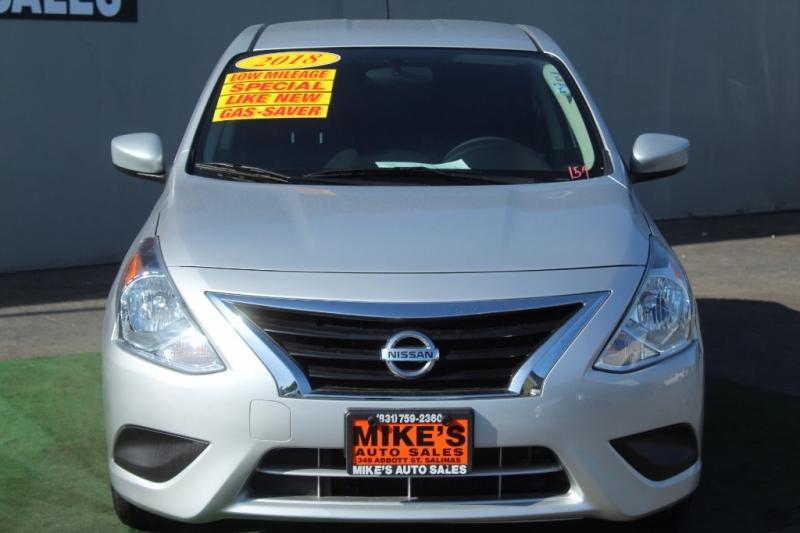Nissan Versa Sedan 2018 price $13,999