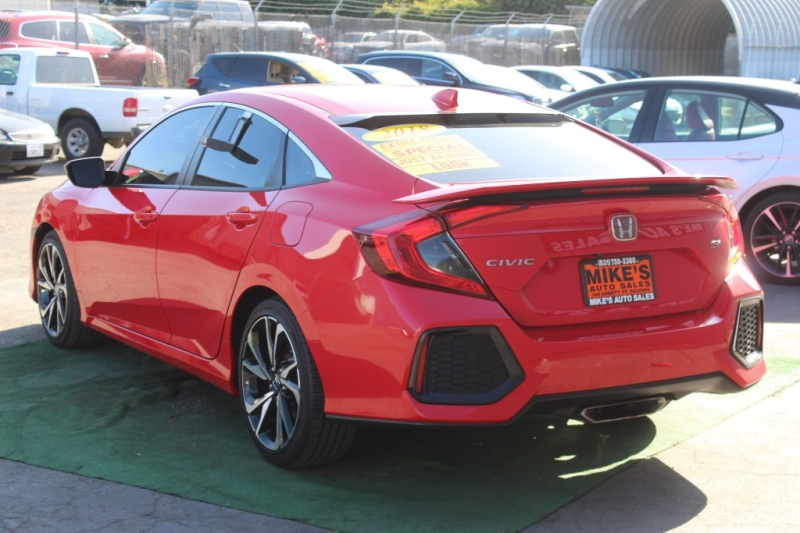 Honda Civic Si Sedan 2018 price $23,999