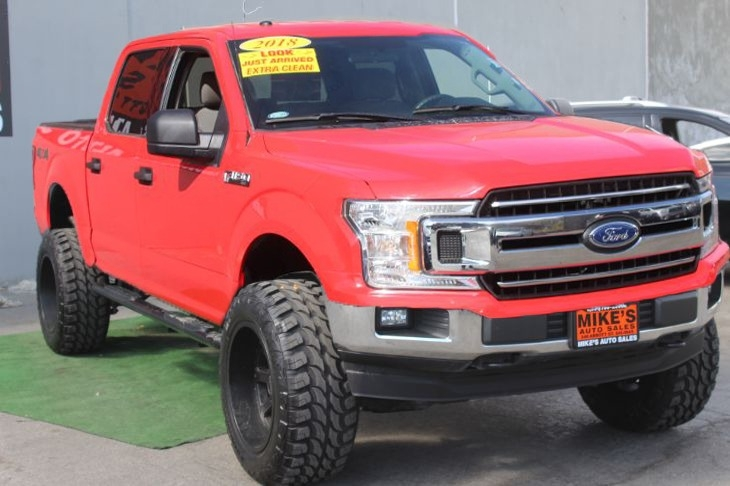 Ford F-150 2018 price $0