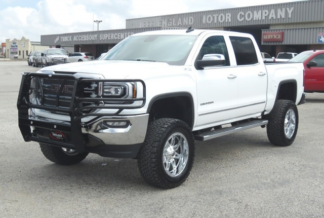 2017 Sierra Lifted >> 2017 Gmc Sierra 1500 4wd Crew Cab Lifted Slt Inventory Jeff