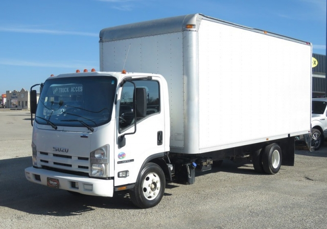 2011 Isuzu NPR HD box truck