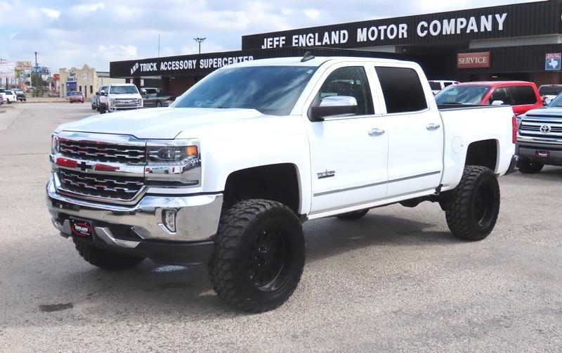 Texas Edition Trucks >> 2017 Chevrolet Silverado 1500 4wd Crew Cab Ltz Texas Edition
