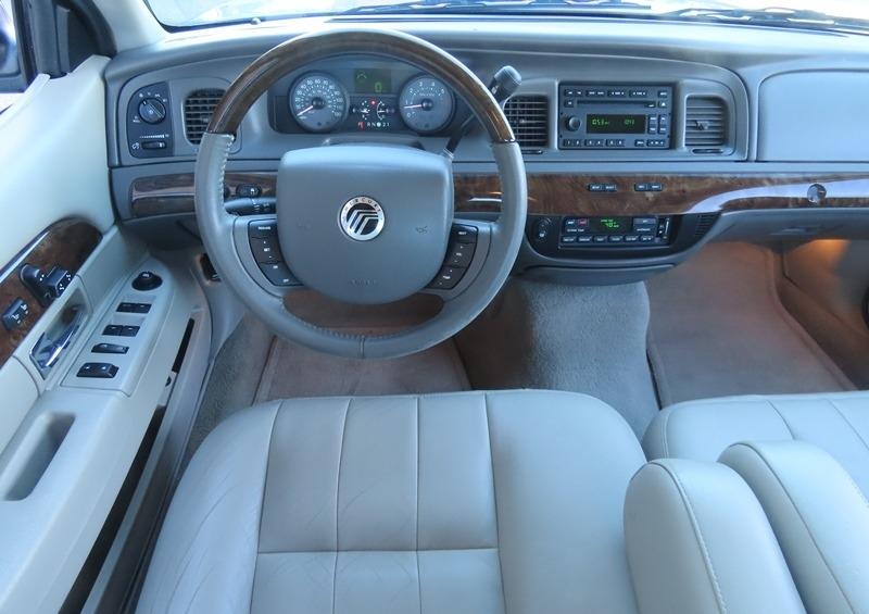 Mercury Grand Marquis 2011 price $8,950