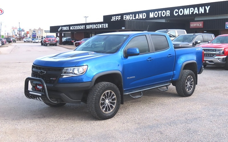 Chevrolet Colorado 2018 price $36,950