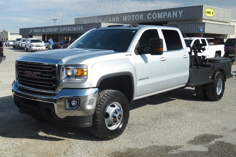 2016 Gmc Sierra 3500hd Lifted 4wd Crew Cab With Welding Bed Inventory Jeff England Motor