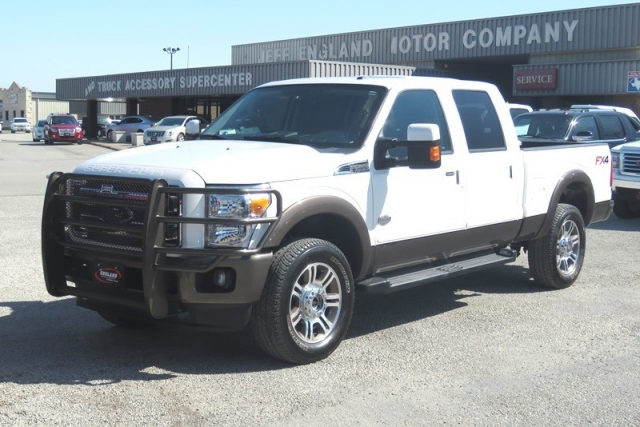 2016 Ford Super Duty F-250 King Ranch 4wd