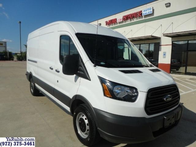 2017 Ford Transit Van Medium Roof CARFAX Cert