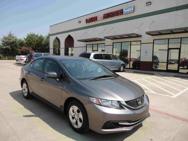 2014 Honda Civic LX 1 Owner Backup Cam Bluetooth