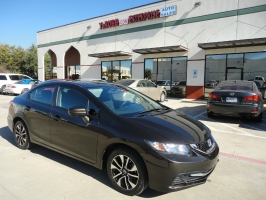 Honda Civic EX Sunroof Rear & Side Camera 2014