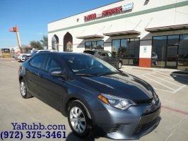 Toyota Corolla LE 1 Owner Backup Cam 2015