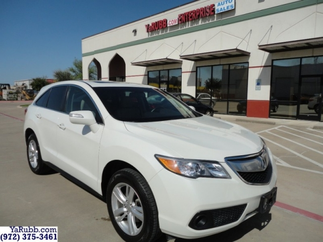 2015 Acura RDX Tech Navigation Full Warranty